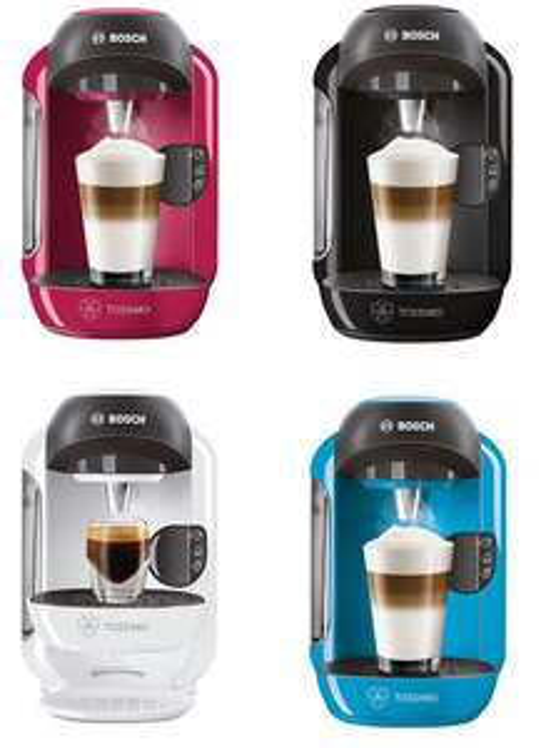 Gratis Bosch Tassimo koffieapparaat door kortingscode en na cashback @ OTTO