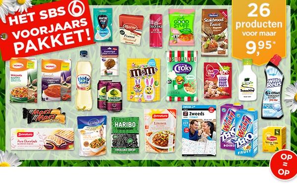 SBS6 Voorjaarspakket met 26 producten voor €14,90 @ SBS6