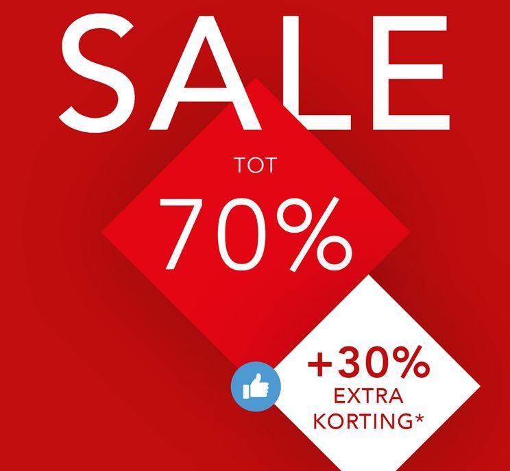 Alleen vandaag 30% extra korting op sale @ Didi
