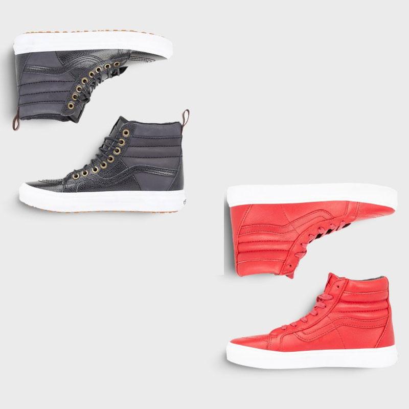 Vans Sk8 HI 46 MTE sneakers zwart / rood -70% - €36,16 @ Stylepit