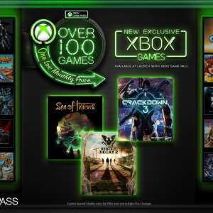 Alle Xbox One exclusieve games direct in de Game Pass op releasedatum (Crackdown 3 enz.) @ Xbox