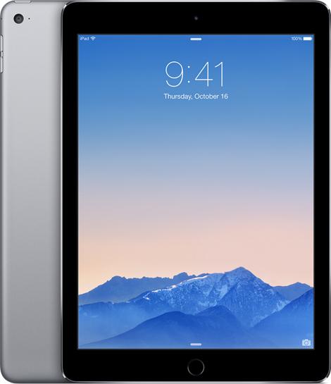 Apple iPad Air 2 WiFi 16GB Grijs voor €419,- @ Phone Village