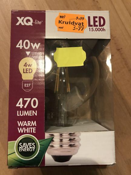 Kruidvat aanbieding: XQ-lite retro lamp - led