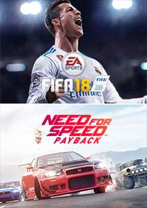 FIFA 18 + Need For Speed Paypack bundle voor €39,99!