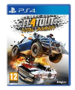 Flat Out 4 Total Insanity (PS4) voor €17,99 @ Bart Smit