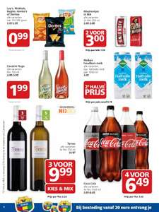 The Coke Report, Coca Cola 4x1,5L €6,49 @Jan Linders v.a. ma. 29-1