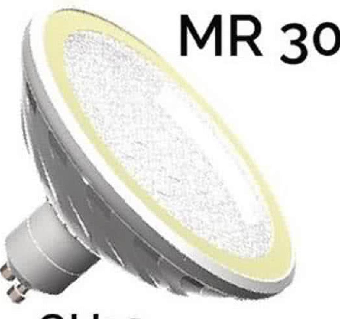 LED-Lamp GU10 MR20 10w met dimfunctie
