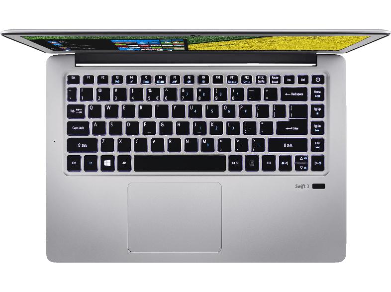 ACER Swift3 (snelle i7 processor, licht keyboard en vingerscan)