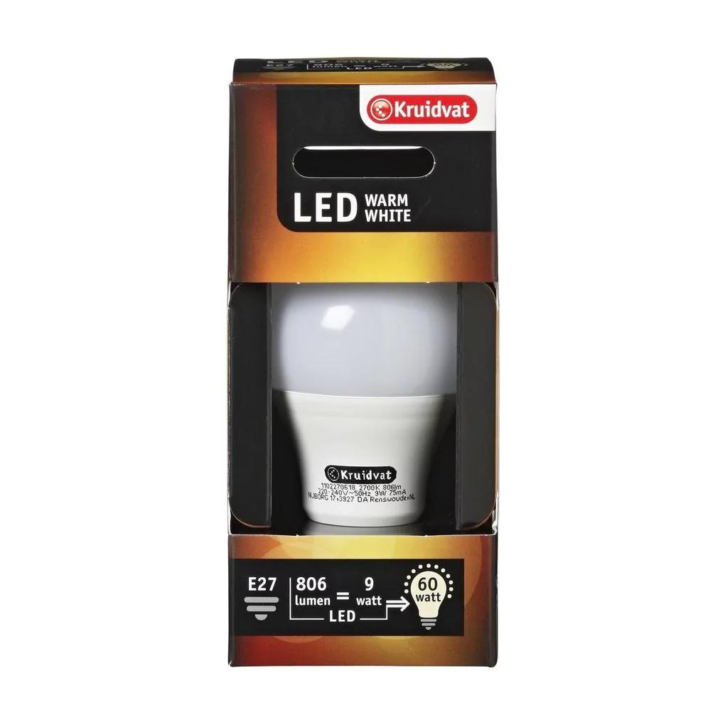 Kruidvat A60 E27 806 lumen LED lamp