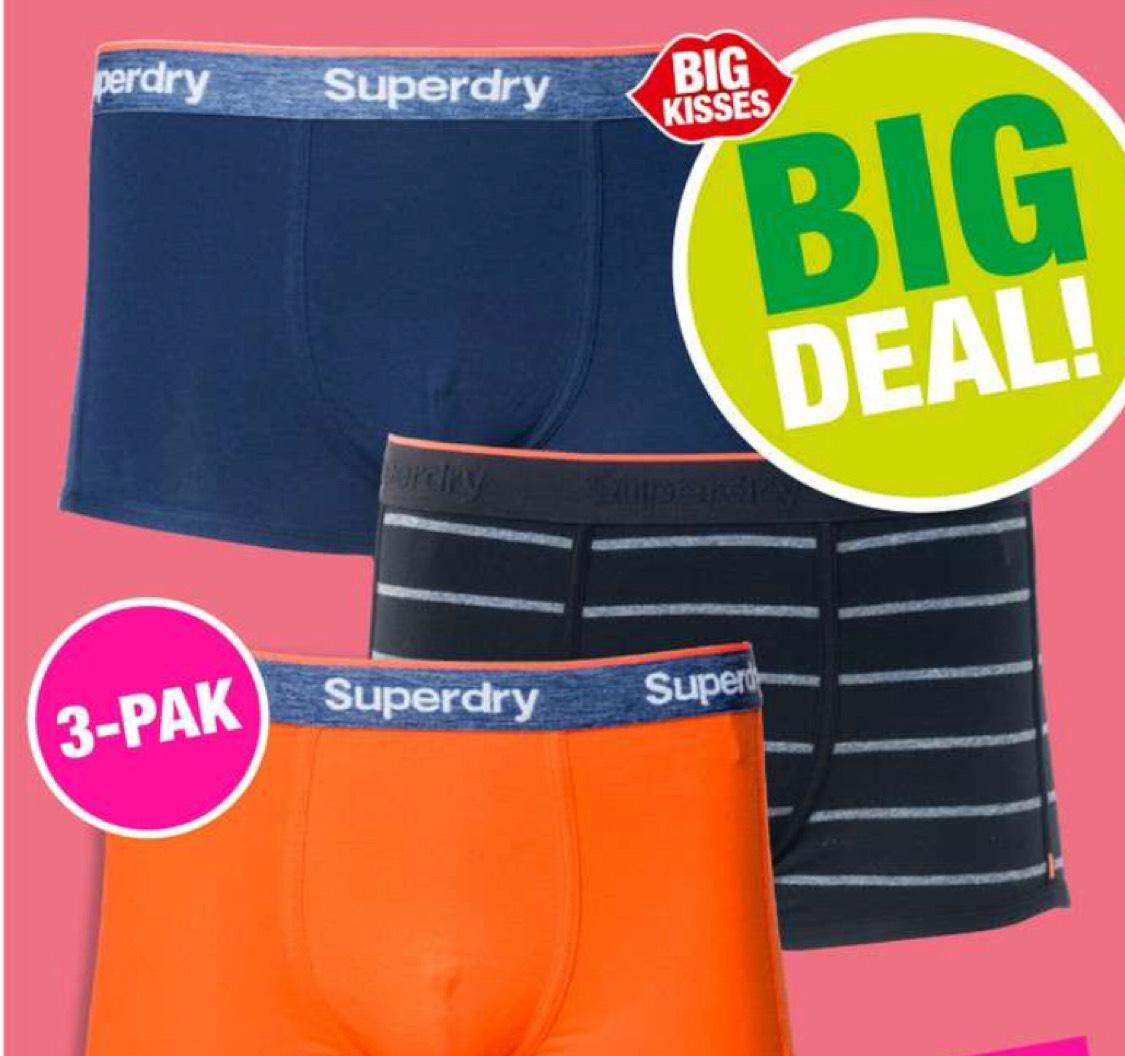 Superdry 3-pack boxers (maat S-XXL)