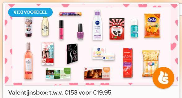 Scoupy Valentijnsbox t.w.v. 153 euro