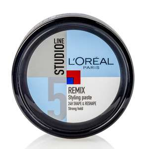 Loreal Remix Styling Paste 24h Strong Hold 150ml €0,93 @ Drogisterij.net