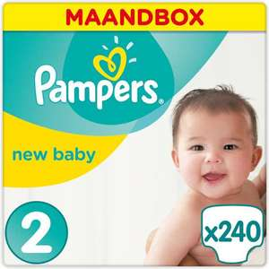 Pampers New Baby maat 2 - 0,12 cent per luier @bol.com