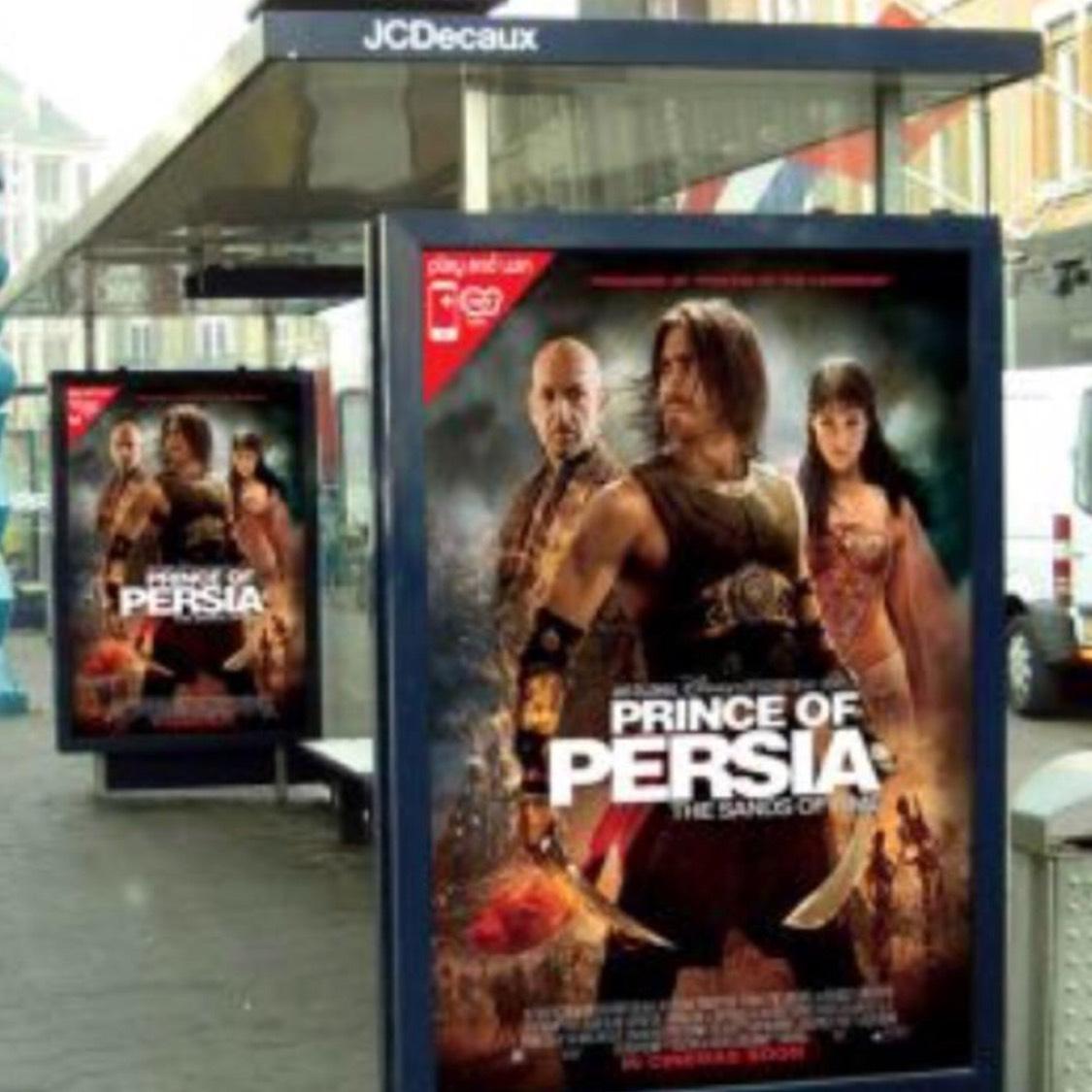 GRATIS posters buitenreclame / bushaltes aanvragen