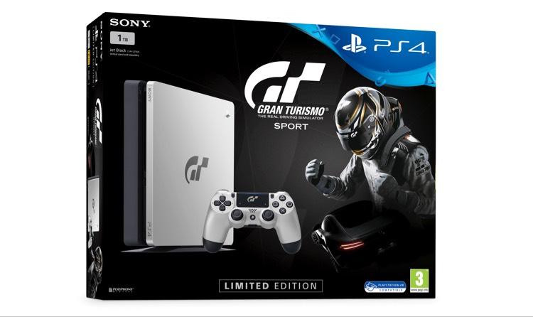 (Grensdeal DE) PS4 Slim 1TB (GT Sport Limited Edition) + 2 Spellen @ eBay