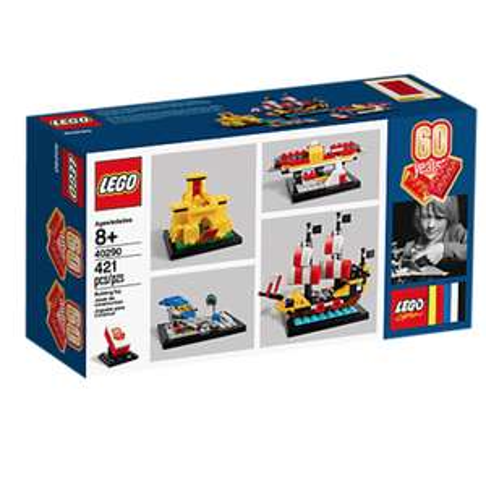 Gratis 60 jaar LEGO® stenen set bij besteding vanaf €125 @ Lego