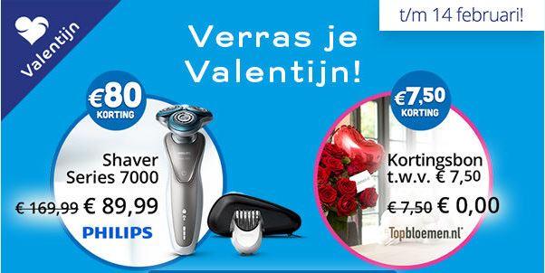 GRATIS* Kortingsbon twv 7,50 Topbloemen en Philips Shaver met € 80,- korting beide met eurosparen punten @ Optimel