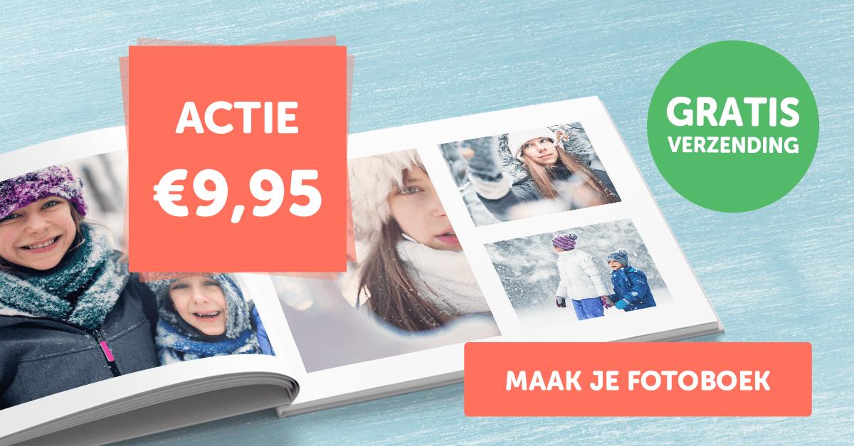 Fotoboek Hardcover A4 voor €9,95 incl. gratis verzending | Fotofabriek