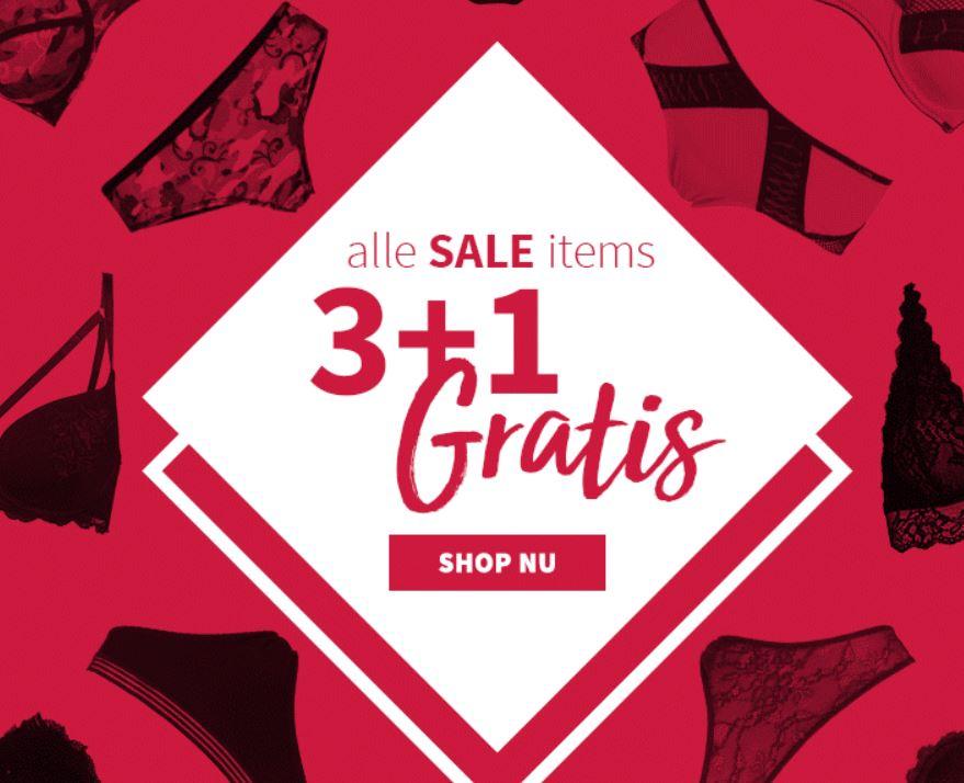 Sale 3+1 gratis + €5 extra korting @ Sapph