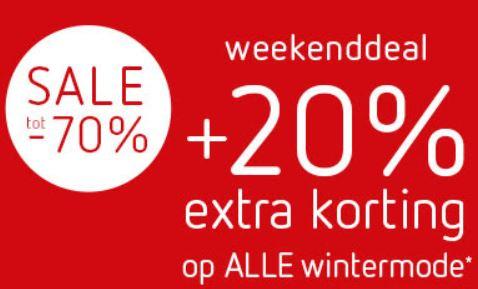 [UPDATE] Sale tot -70% + 20% extra met code @ Kleertjes.com