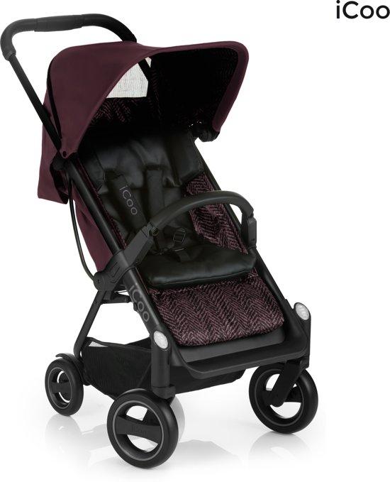 [Update] iCoo Acrobat Kinderwagen Fishbone Bordeaux voor €110,70 @ Bol.com