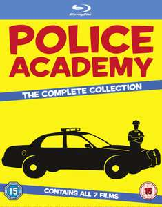 Police Academy - The Complete Collection (Blu-ray) voor € 17 @ Zavvi