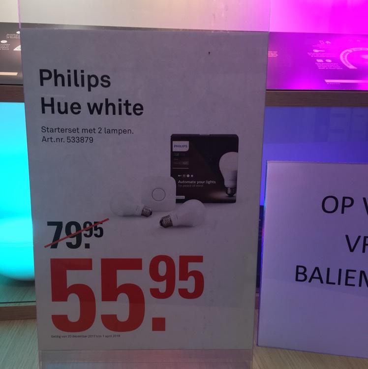 Philips Hue White starter pakker