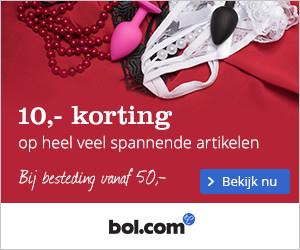€10 korting bij een besteding van €50 aan erotische artikelen @ Bol.com