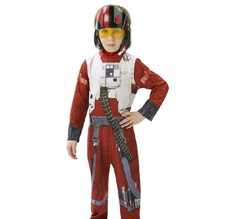 Star Wars Xwing Fighter Pilot kostuum (maat L)