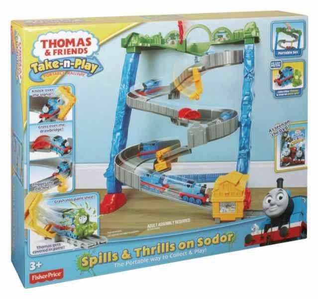 Thomas de trein - Spills & Thrills on sodor (take n play)