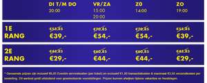 15 € korting on your feet (Laatste dag!) Musical