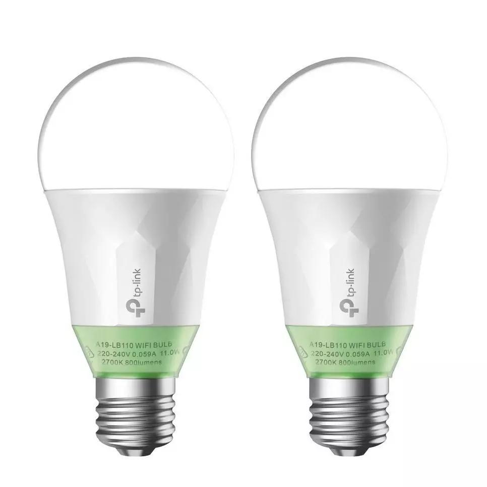 2x TP-Link LB110 Wi-Fi LED Lamp voor €47 @ Wehkamp