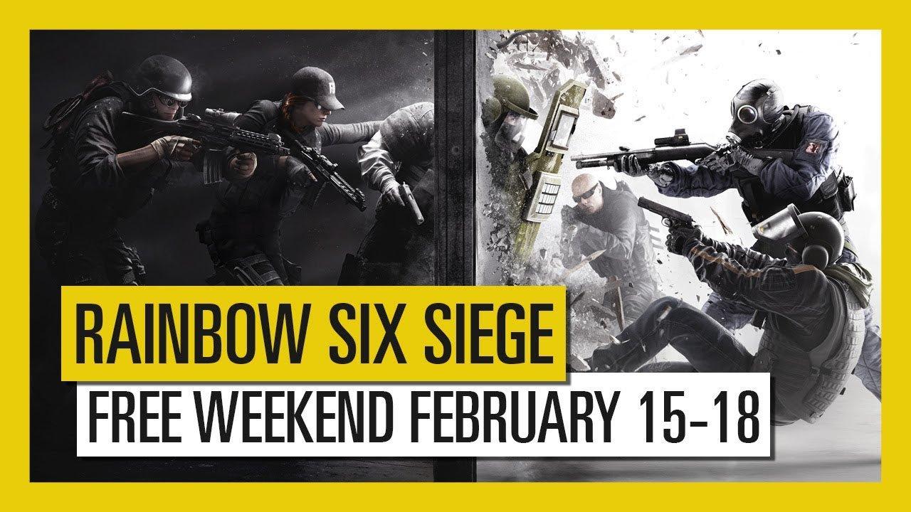 Tom Clancy's Rainbow Six Siege gratis speelbaar in het weekend (PS4, Xbox One, Steam en Uplay)
