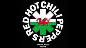 Gratis download Red Hot Chili Peppers live in Cardiff