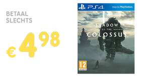 Inruilactie Shadow of the Colossus vanaf €4,98 @ Gamemania