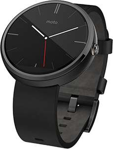 Moto 360 smartwatch voor €184,72 @ Amazon.es
