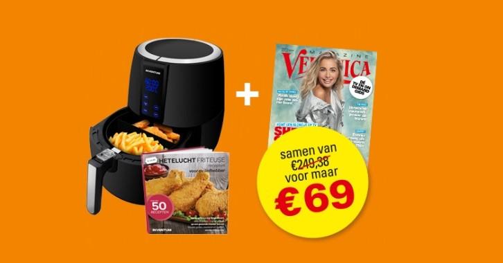 52x Veronica Magazine + Inventum airfryer voor €69