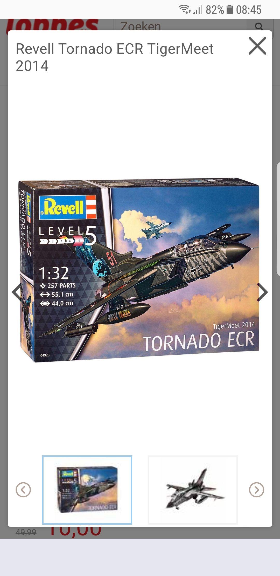Donderdagdeal bij Lobbes.nl Revell Tornado ECR TigerMeet 2014