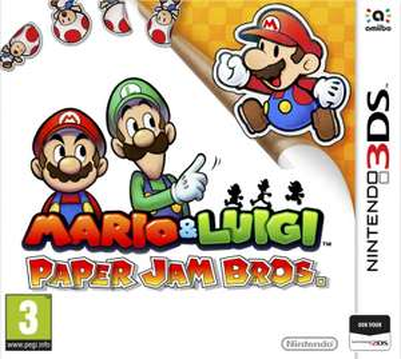 Mario & Luigi - Paper Jam Bros (3DS) voor €18 @ Nedgame