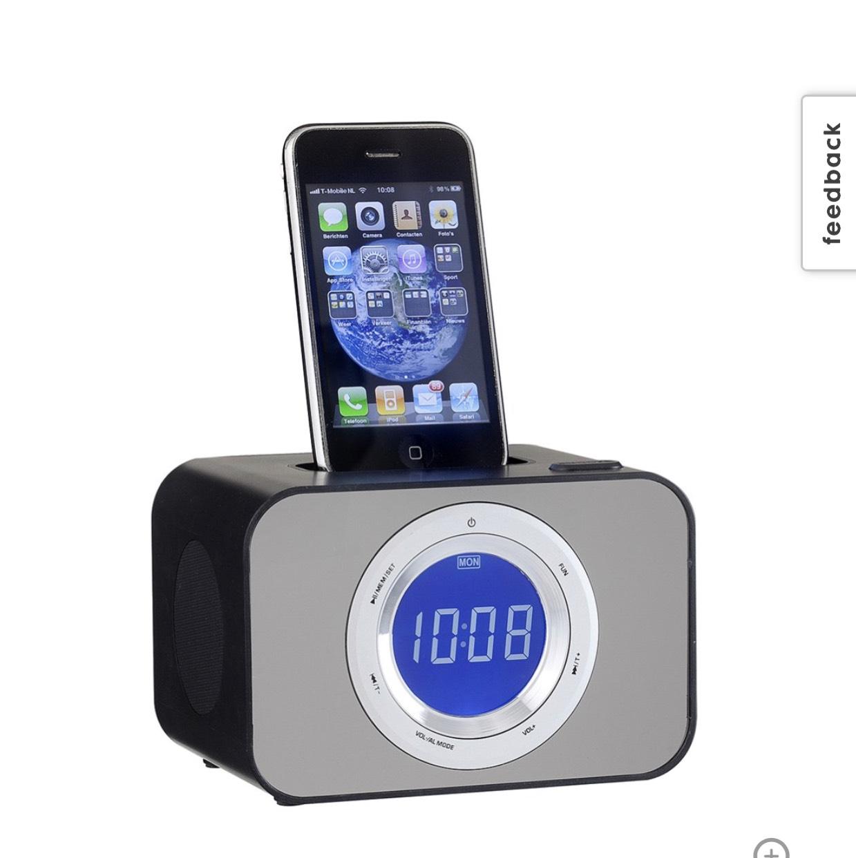 Ipod wekkerradio