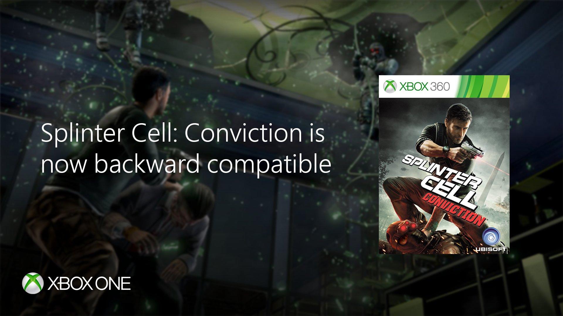 Splinter Cell: Conviction Xbox One/360 voor €4,99 @ Microsoft/Xbox Store