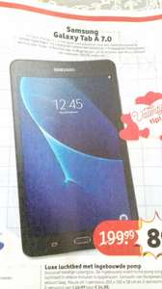 Samsung Galaxy Tab A 7.0 @ Kruidvat