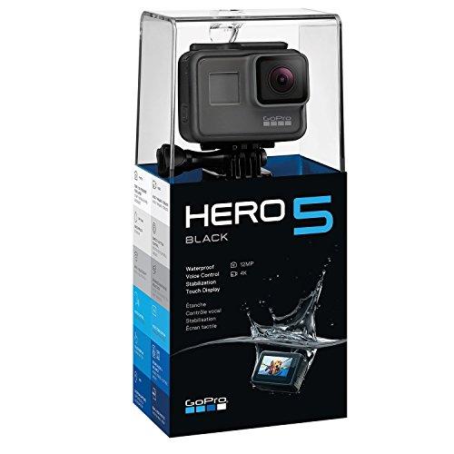 GoPro Hero 5 Black Edition voor €245,73 @ Amazon.es