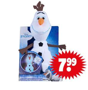 Disney Frozen Glow in the Dark Olaf €7,99 @ Dirk
