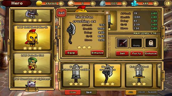 Gratis Dragon Slayer - i.o RPG game @ Play Store