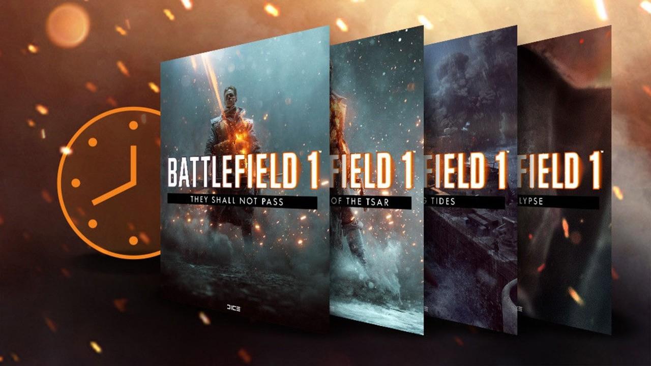 Turning Tides uitbreidingspakket dit weekend gratis speelbaar voor Battlefield 1 spelers (PS4, ONE en PC)
