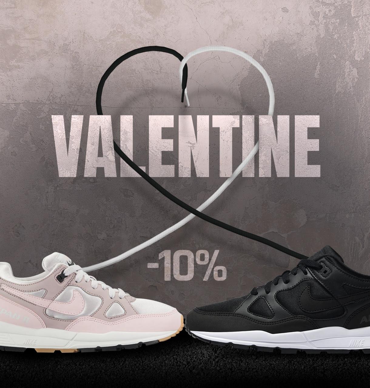 10% korting: Valentijns korting bij Sneaker District