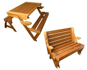 Magic bench (2-in-1-bank) voor slechts €60 @ Vrijbuiter