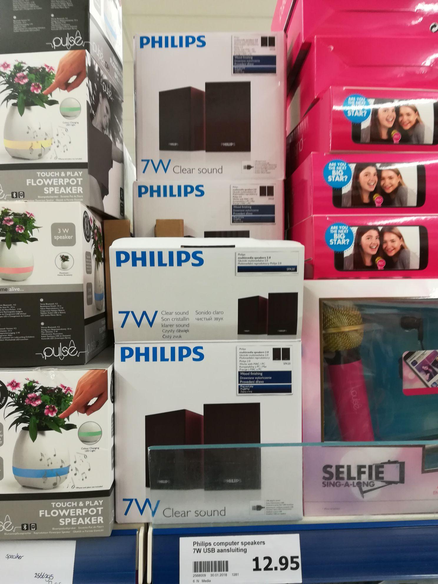 Philips 7W USB speakers @Action