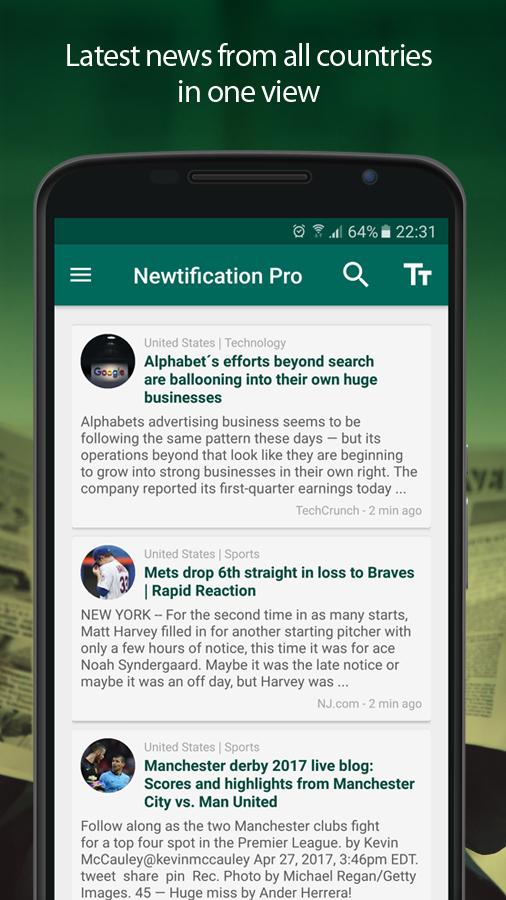 Newtification Gratis @Google Play ipv € 6,49